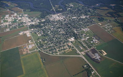 Aerial Photo of Vinton
